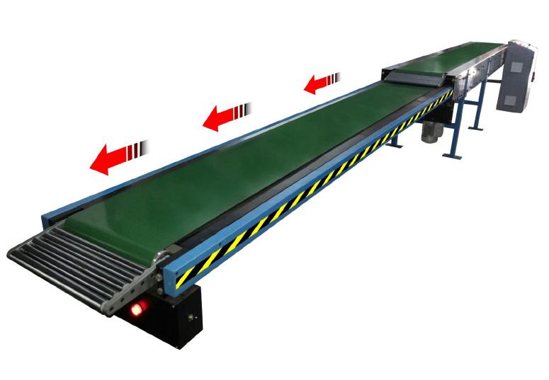 Telescopic Conveyor Parisa Technologies